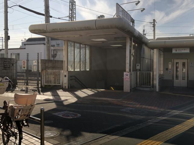 河内天美駅の東出口の写真